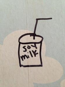 I think Sarah drew this.