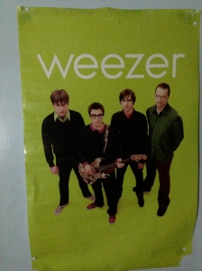 I could't find a Blue Album poster, OK?