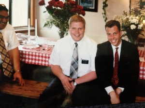 Elder Caldwell. He was on his way out when I met him. One of those guys you listened to because he'd been around a while.