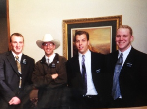 My trainer, Elder Arizona Ray is in the hat. This is his posterity photo.