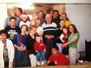 We spent Christmas with a Mormon family, as is typical.
